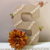 """Fall inspired initial - Letter \""""S\"""""""