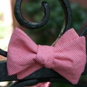 Carolina Red Bow Tie
