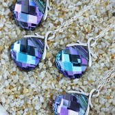 After Midnight, Set of 4 Brides Maids Necklaces