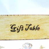 Gift Table Sign