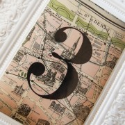 Paris map table numbers