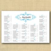 Elegant Frame Wedding Seating Chart