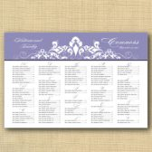 Flourish Wedding Seating Chart