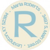 Initial address label