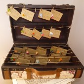 Trunk Place Card Display