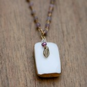 Chloe Pendant Bridal Necklace