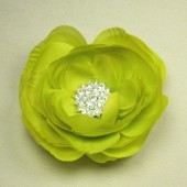 Magnetic Brooch in Lime