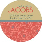 Julie address label