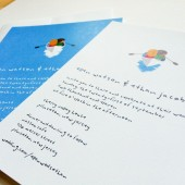 Little Boat Wedding Invitation