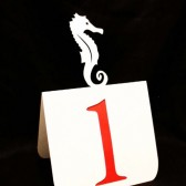 Seahorse Table Numbers
