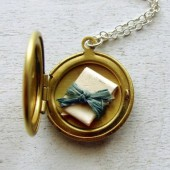 Secret Message In a Vintage Locket