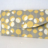 Martini in Mustard Snap Clutch