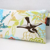 Floral Birds Zippered Clutch Pouch