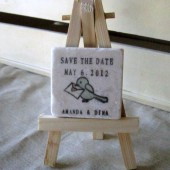 Birdie Save the Date Magnets