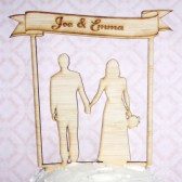 Custom Bamboo Cake Topper