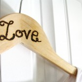 Rustic Wedding Love Photo prop
