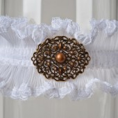"Wedding Garter ""Carina\"""