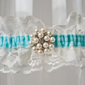 "Wedding Garter ""Charlize\"""