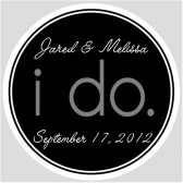 I do wedding label