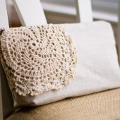 Makeup Bag in Lace