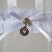 "Wedding Garter ""Mary Jane\"""