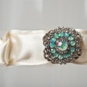 "Wedding Garter ""Nataliana\"""