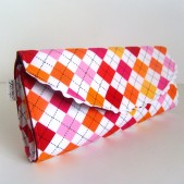 Argyle purse
