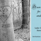 Love Tree Save the Date