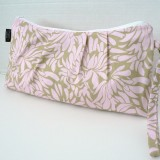 Catalina Clutch Pink and Grey