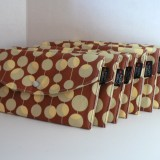 Martini in brown Bridesmaid clutch set