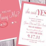 Check Yes or No Save the Date