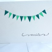 Custom Bunting Rehersal Dinner or Shower Invitation
