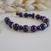 Deep Purple Bracelet