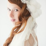 Lovely Small Polka dot Mantilla Veil