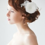 Lacy Dreams - Bridal Hair piece