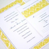 Yellow Damask Wedding Suite