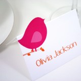 Love Bird Escort Card