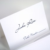 Pure Elegance Escort Cards