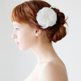 Whimsical Petals - Bridal Hair piece