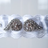 "Wedding Garter ""Daisy\"""
