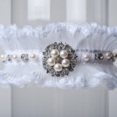 "Wedding Garter ""Avery\"""