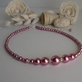 Rose Pearl Necklace