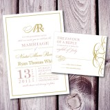 Royal Elegance Invite