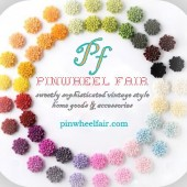 Hand-cast Peony Push Pins / Magnets 25 Shades