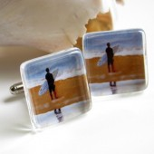 Autumn Surf Cuff Links
