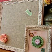 XL Ornate Escort Card Display 28x28""