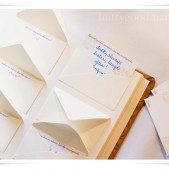 Custom Envelope Guest Book