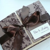 Custom Double Bound Guset Book