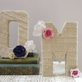 Wedding monogram, cake topper, table decor, photo prop