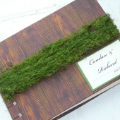 Custom Rustic Wedding Guest Book